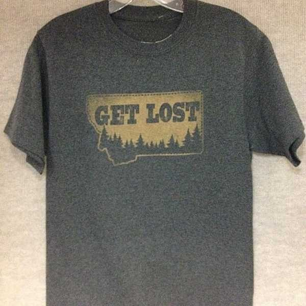 The perfect gift for the Montana lover in your life. https://highcountrygifts.com/holiday/graduation/get-lost-in-montana-tshirt.html