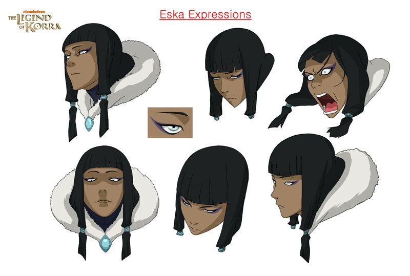 The Legend of Korra: Eska by phioli on DeviantArt