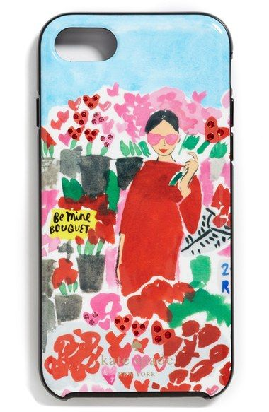 kate spade new york crystal floral bella iPhone case (7 & 7 Plus) available at #Nordstrom