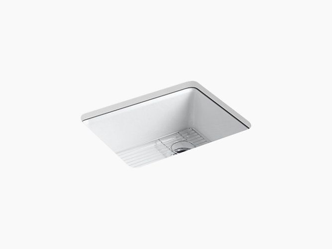 K 5872 5ua1 Riverby Undermount Kitchen Sink With Five Faucet Holes Kohler Sink Single Bowl Kitchen Sink Kitchen Sink