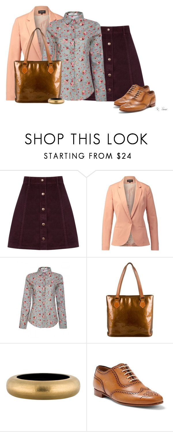 """Just a little something"" by ksims-1 ❤ liked on Polyvore featuring Oasis, mbyM, Louis Vuitton, Alexis Bittar and Ralph Lauren"