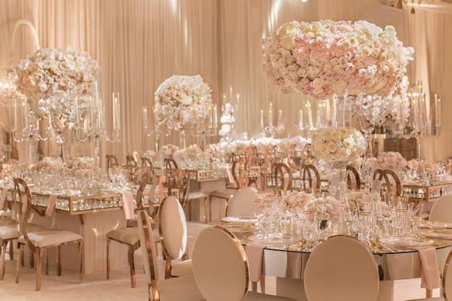 Rose Gold Wedding Ideas For Ceremony Reception Décor: Rose Gold Engagement Party