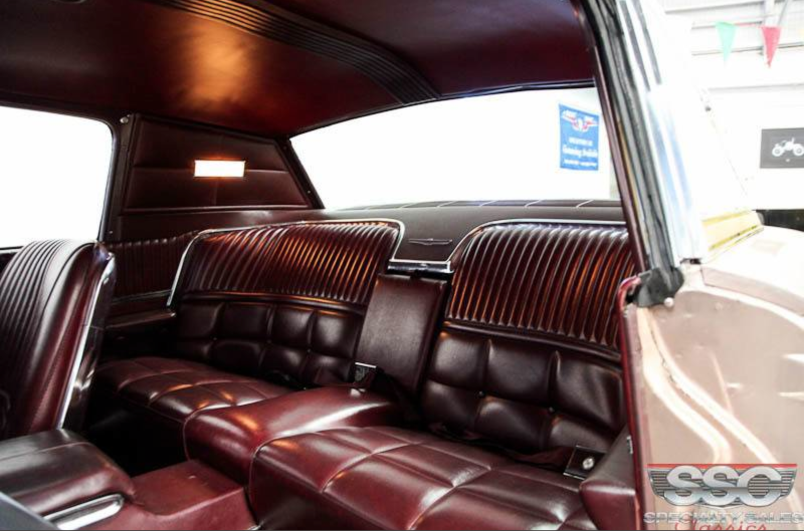 1966 Thunderbird I Typically Don T Like Burgundy Interior Or The