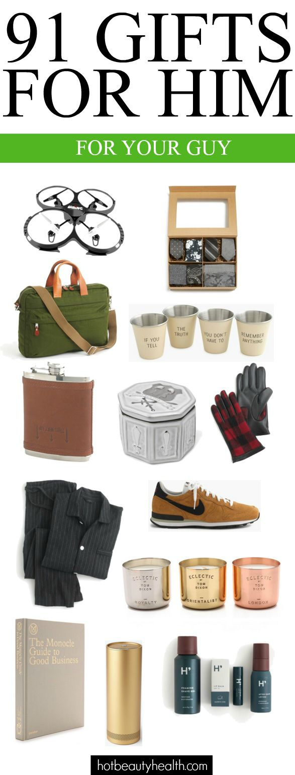 7228710bf09e 100+ Gift Ideas for The Guy(s) in Your Life