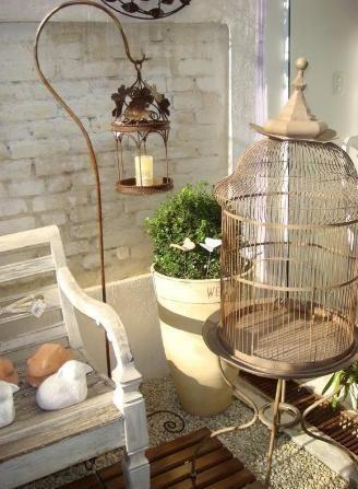 Decora o para sacada pequena varanda pinterest for Mobiliario terraza pequena