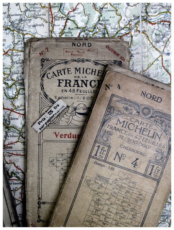 Carte Michelin France Map Old Maps Vintage Maps
