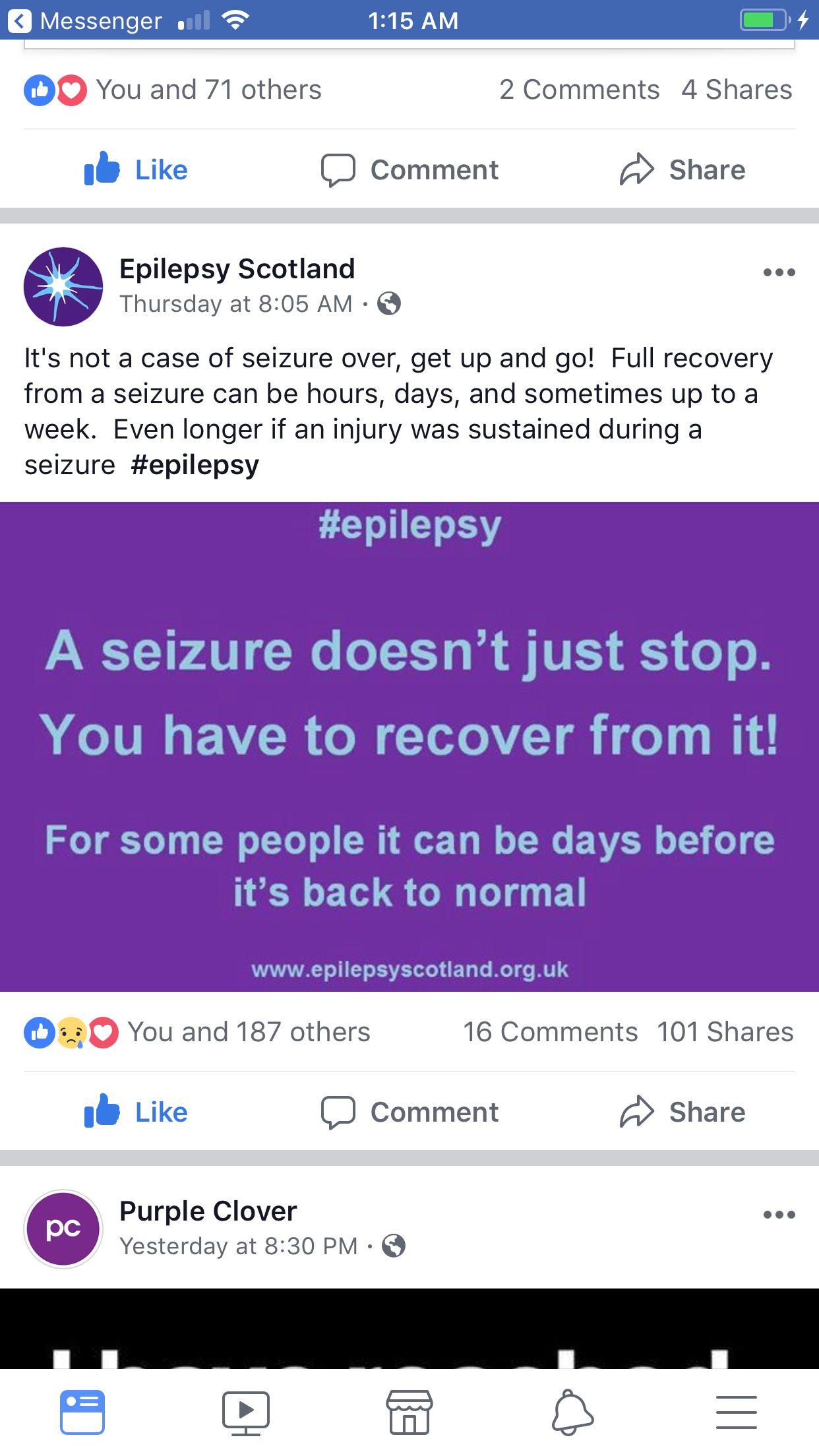 Pin by gabby zuniga on purple ribbon epilepsy awareness