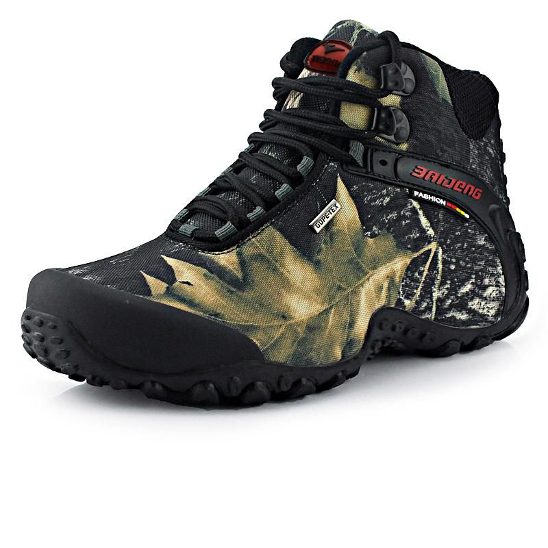 Newest Men Hiking Shoes Waterproof Canvas Outdoor Shoes Anti-skid Mountain  Climbing Fishing Boots Sneakers Sport hunting Shoes. Yesterday s price  US   49.99 ... f4ff2df6335