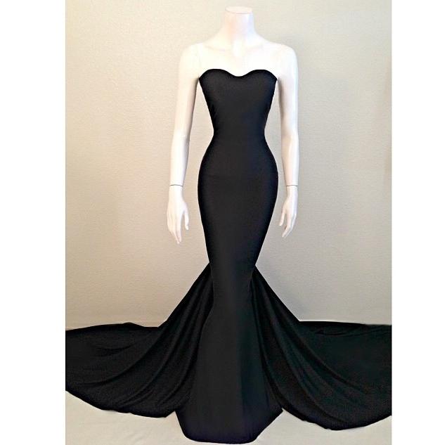 Black night prom dresses