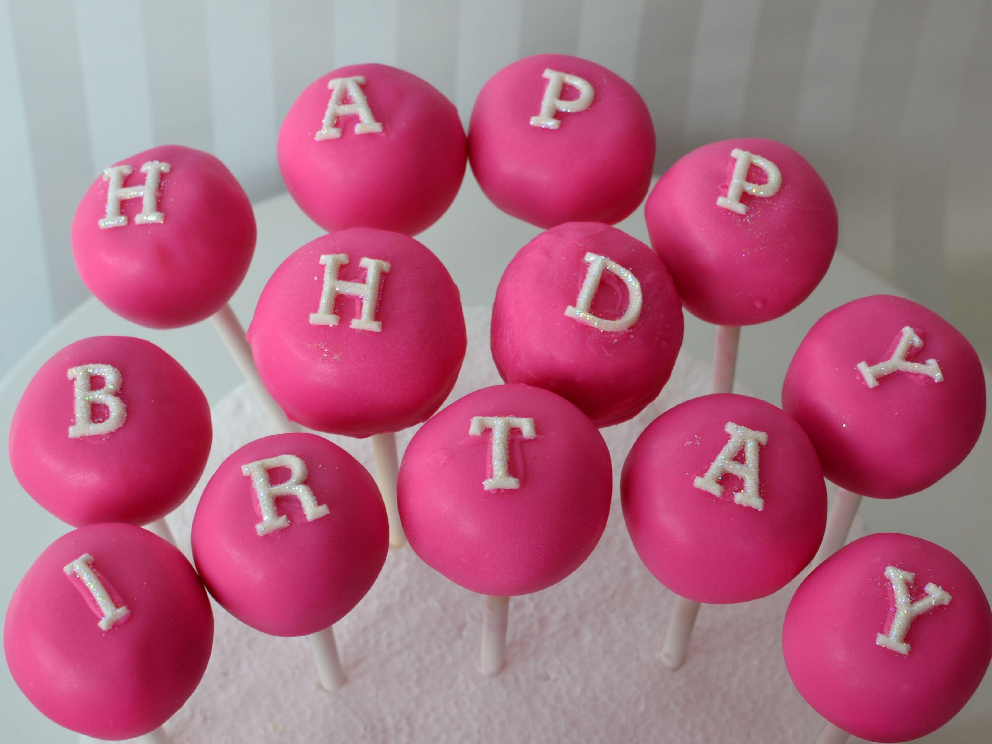 Happy Birthday Cake Pops Pint Sized Baker 2019