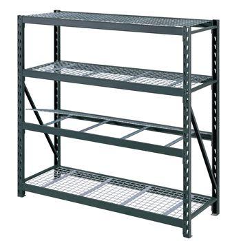 costco uk whalen 4 tier 77 195cm industrial storage rack storage industrial storage. Black Bedroom Furniture Sets. Home Design Ideas