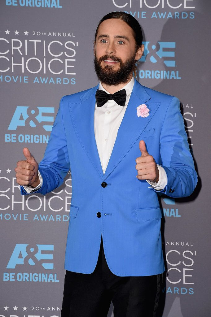 http://www.popsugar.com/beauty/Jared-Leto-Man-Bun-Critics-Choice-Awards-36590341