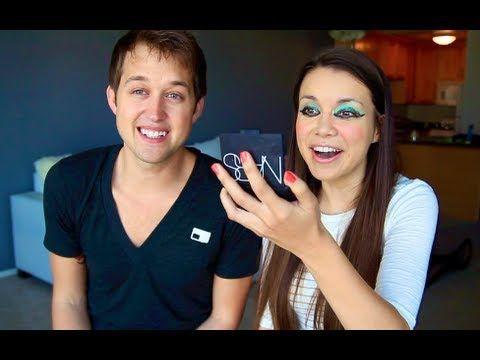 My Boyfriend Does My Makeup! ♥ Makeup MAYhem Day 6    cutest couple ever!