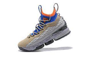 best loved 10c4f faba8 Mens Nike Lebron XV 15 KSA ACG Mowabb PE 2018 Grey Blue Orange HOH AR4831  900
