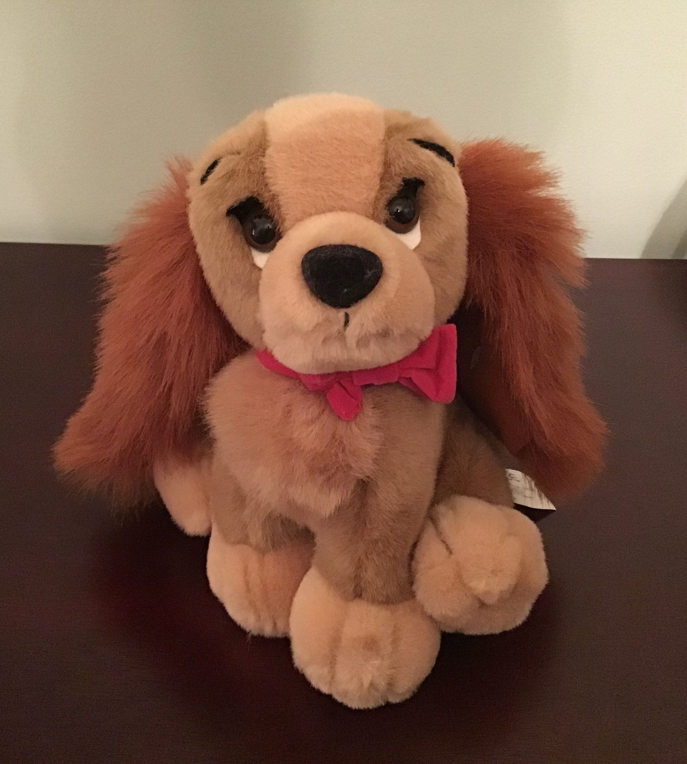 Vintage Disney S Lady And The Tramp 8 Lady Dog Plush