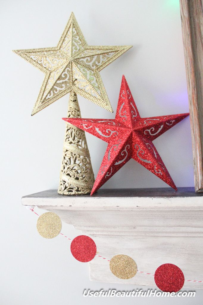 DOLLAR TREE DIY Metal Stars Paint tarnishdistress