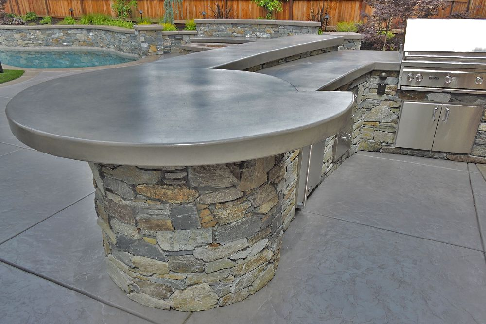 Recent Outdoor Kitchen Projects Sacramento Quality Family Time Concrete Outdoor Kitchen Outdoor Kitchen Design Build Outdoor Kitchen