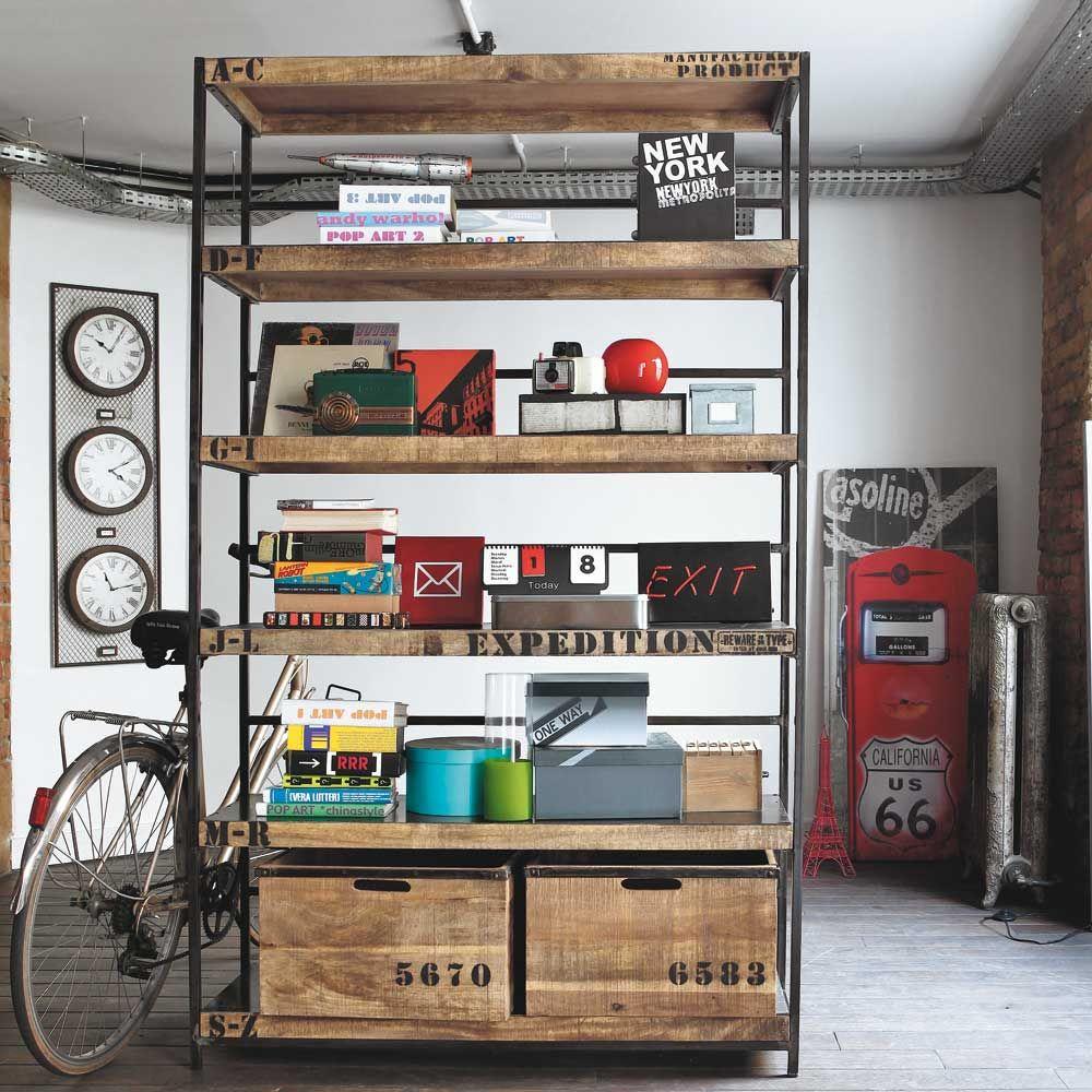 etag re manufacture maison du monde deco random. Black Bedroom Furniture Sets. Home Design Ideas