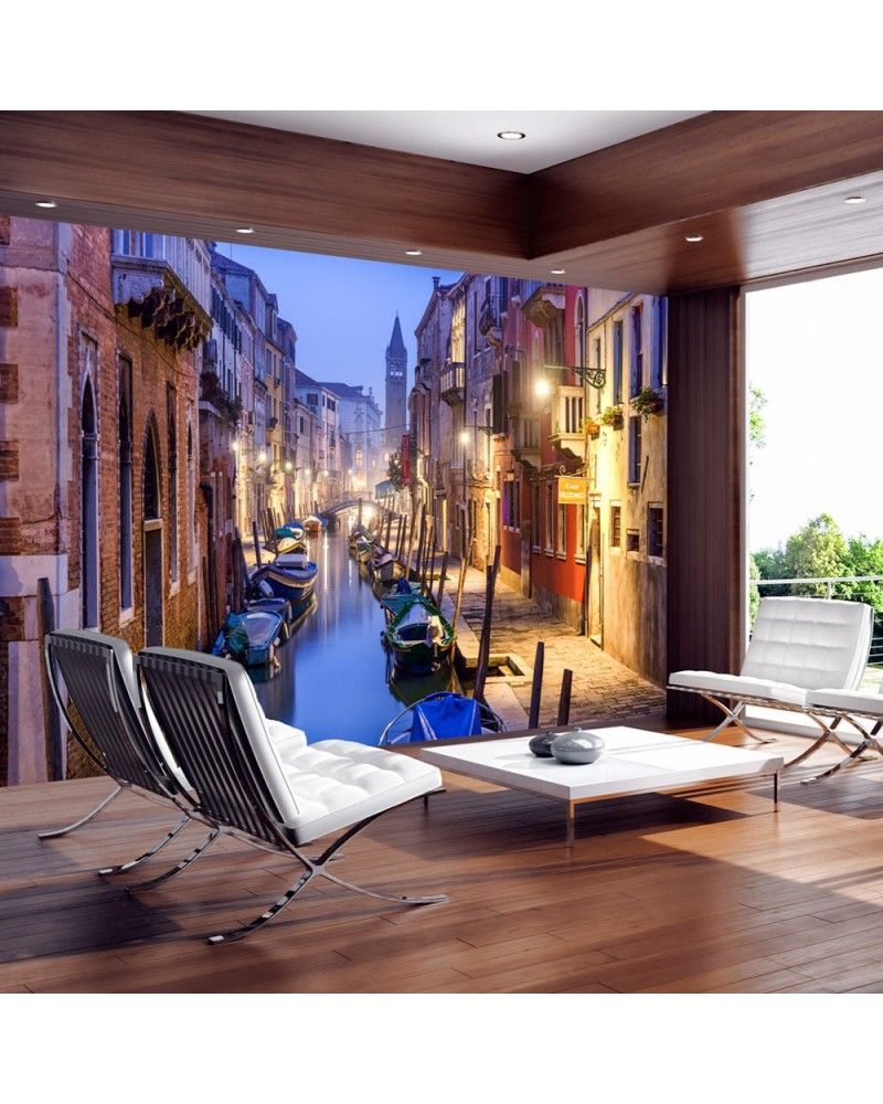 25 Wall Mural Designs: Wall Mural - Evening In Venice