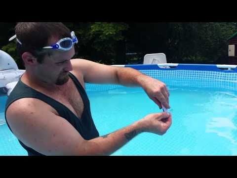 How To Find A Leaks At The Bottom Of An Intex Pool Youtube Intex Pool Above Ground Pool Liners Pool Liners
