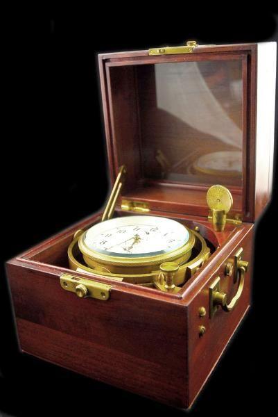 SELTEN! Russischer Poljot Marine Chronometer 6mx Kirova Schiffschronometer 1.MUF