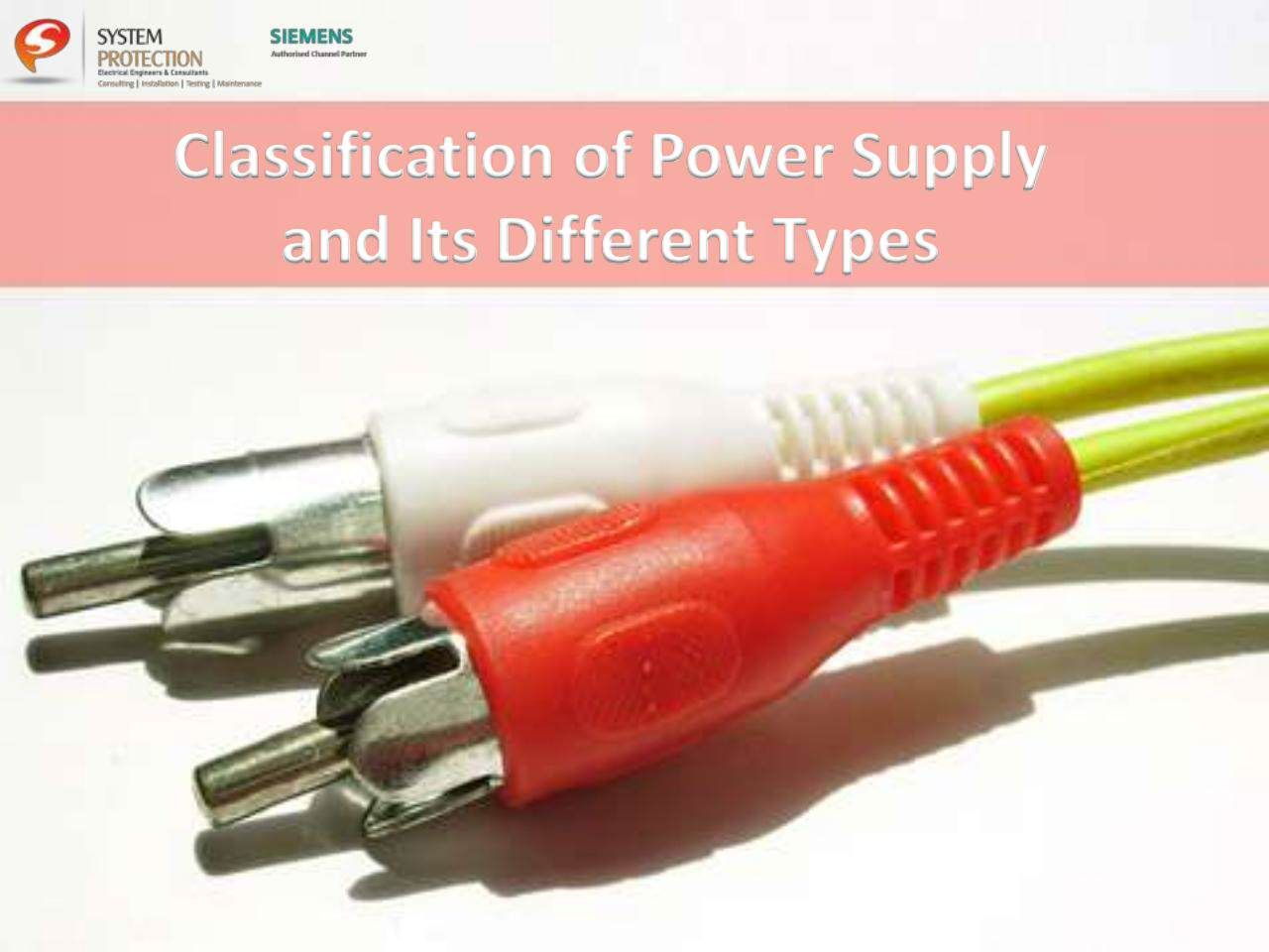 Classification of #PowerSupply and Its Different Types https://www ...