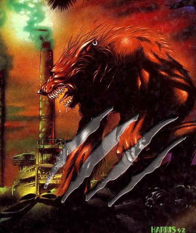Werewolf - White Wolf, World of Darkness, Tony Harris.