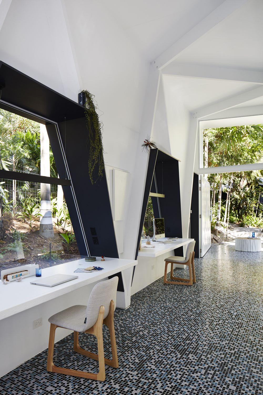 Studio For Indigo Jungle Marc Co Brisbane Architects Interior
