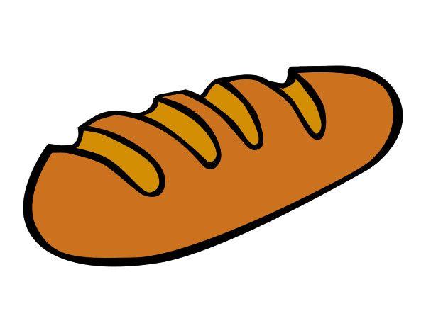Dibujo De Barra De Pan Pintado Por Hiba En Dibujos Net El Dia 28 Arabic Kids Loaf Bread Nutri