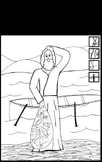 free saint james coloring page catholic kids