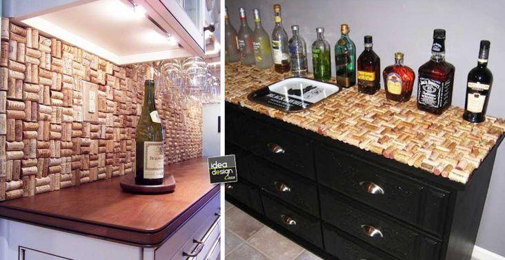 Idee Creative Con Tappi Di Sughero : Decorare casa con tappi di sughero idee creative come