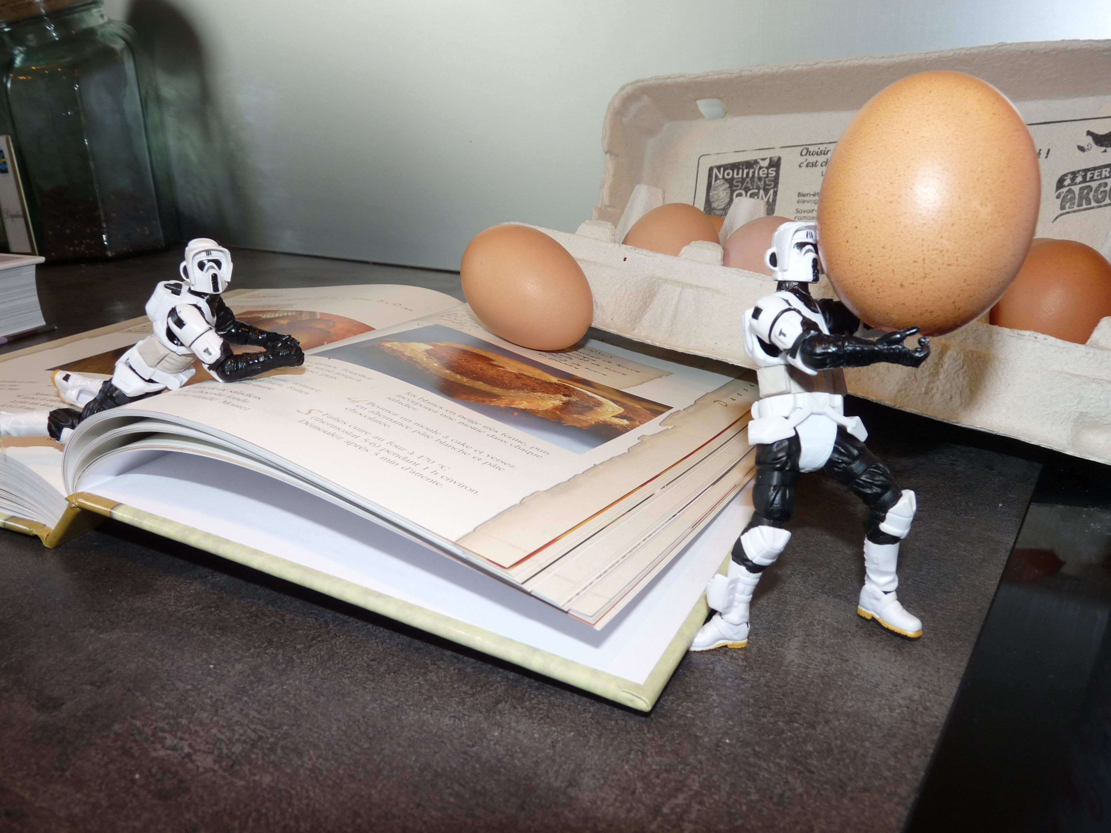 Funny Star Wars in the kitchen