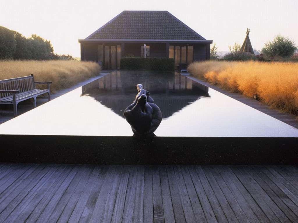 Piet Odolf Water Design Private Garden Garden Architecture Modern Landscaping