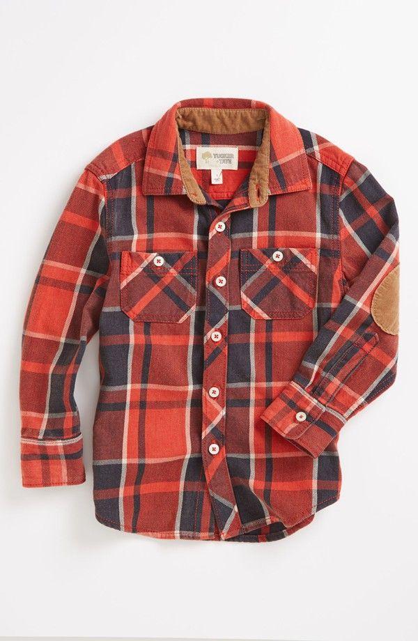 9031a9d36 Tucker + Tate 'Lawson' Long Sleeve Flannel Shirt (Baby Boys) | K's ...