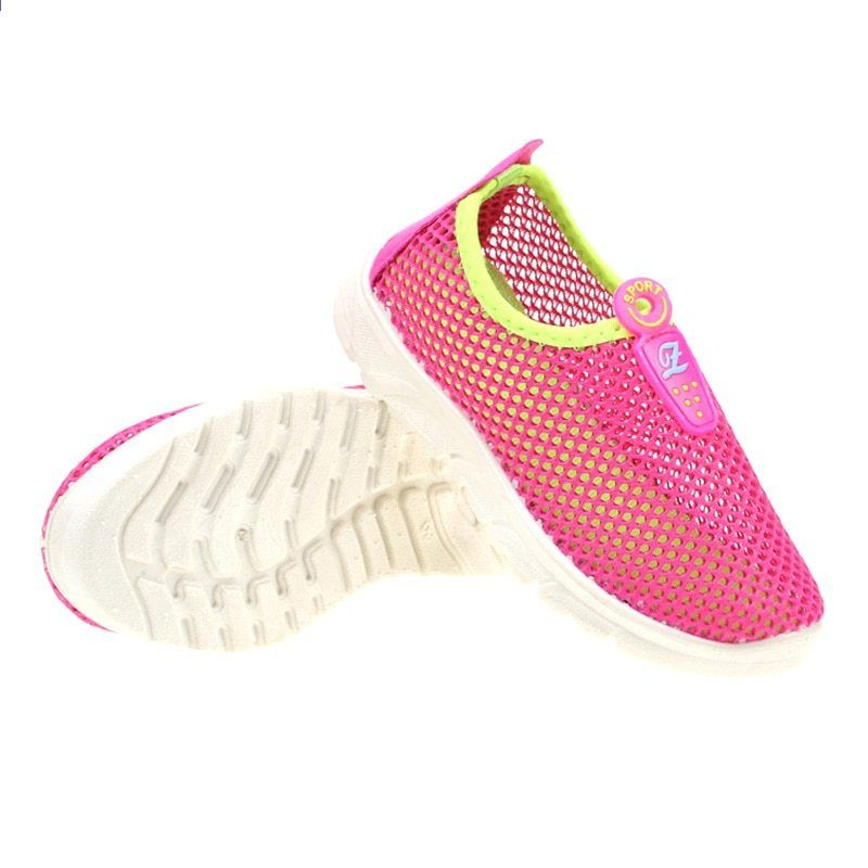Dětské letní boty Nová módní čistá prodyšná volný čas Sportovní běžecké boty  pro dívčí boty pro děti Značky Dětské boty Letní 160e9d84c9