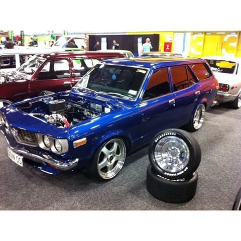 WAY GONE! #mazda #rx3 #wagon #simmons #streetcar #newzealand