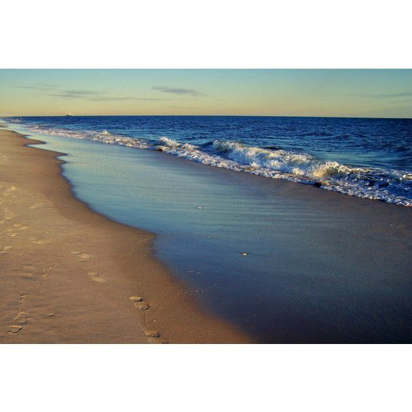 Robert Moses Beach Long Island Ny Photo Notecard 5 Liked On Polyvore Featuring Home Decor And