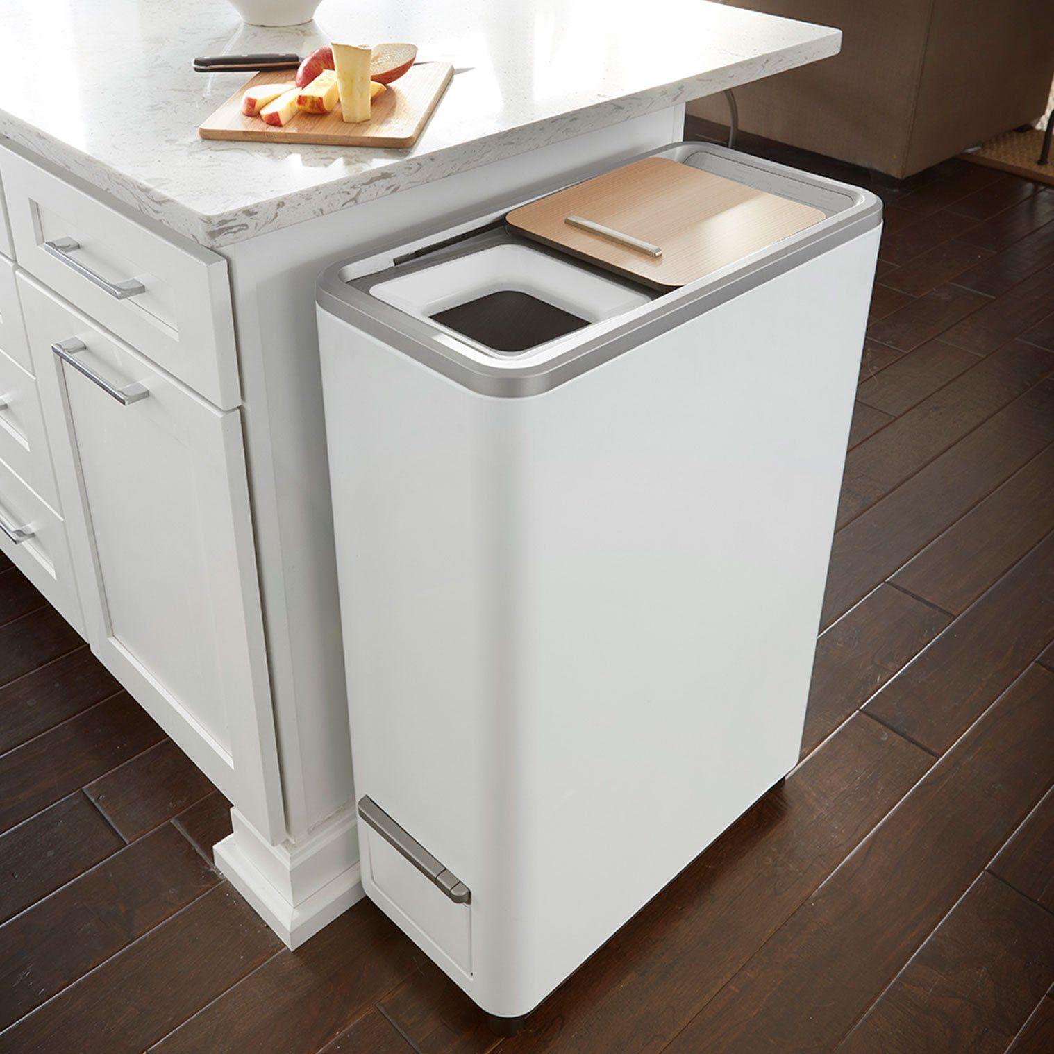Zera Food Recycler Modern Kitchen Trash Cans Kitchen Trash Cans Modern Kitchen