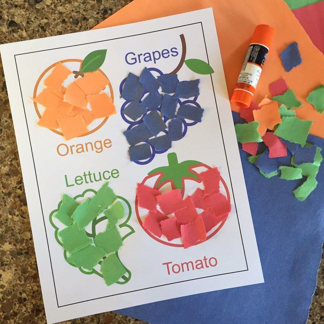 6 Healthy Food Crafts And Activities For Preschool