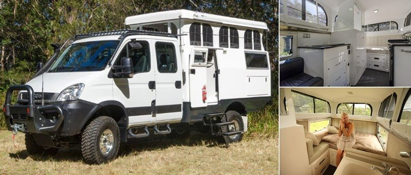 Earthcruiser Expedition Campers For Extended Travel Expedition