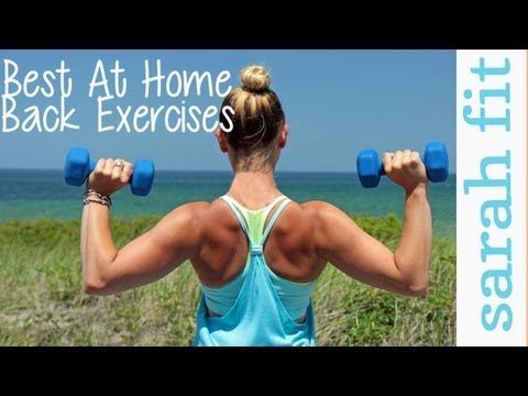 Pin By An Organic Story On Fitness Back Workout Women Cardio Workout At Home Back Workout At Home