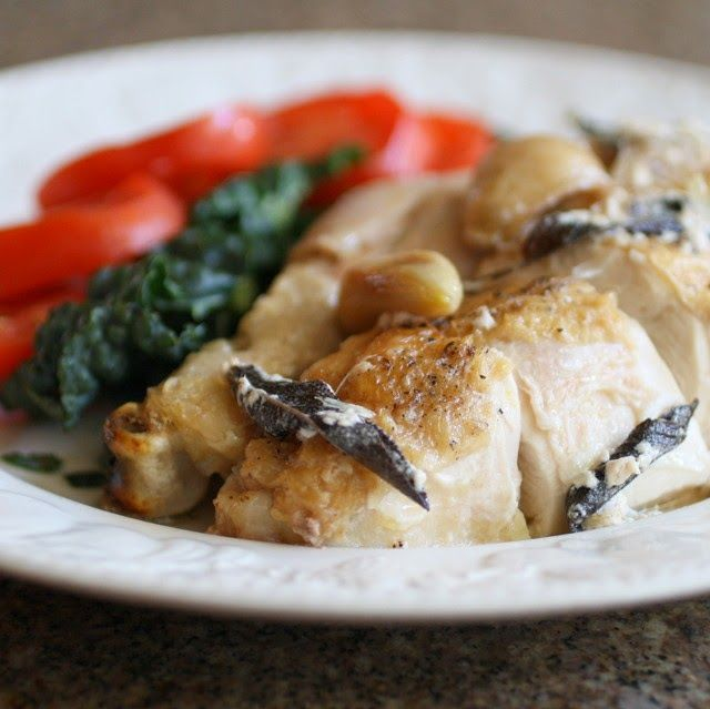 Savoury Table: On the Move: Jamie Oliver's Chicken in Milk