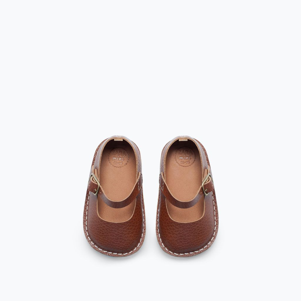 zara leather ballet flat for baby . on sale! . on the blog ...