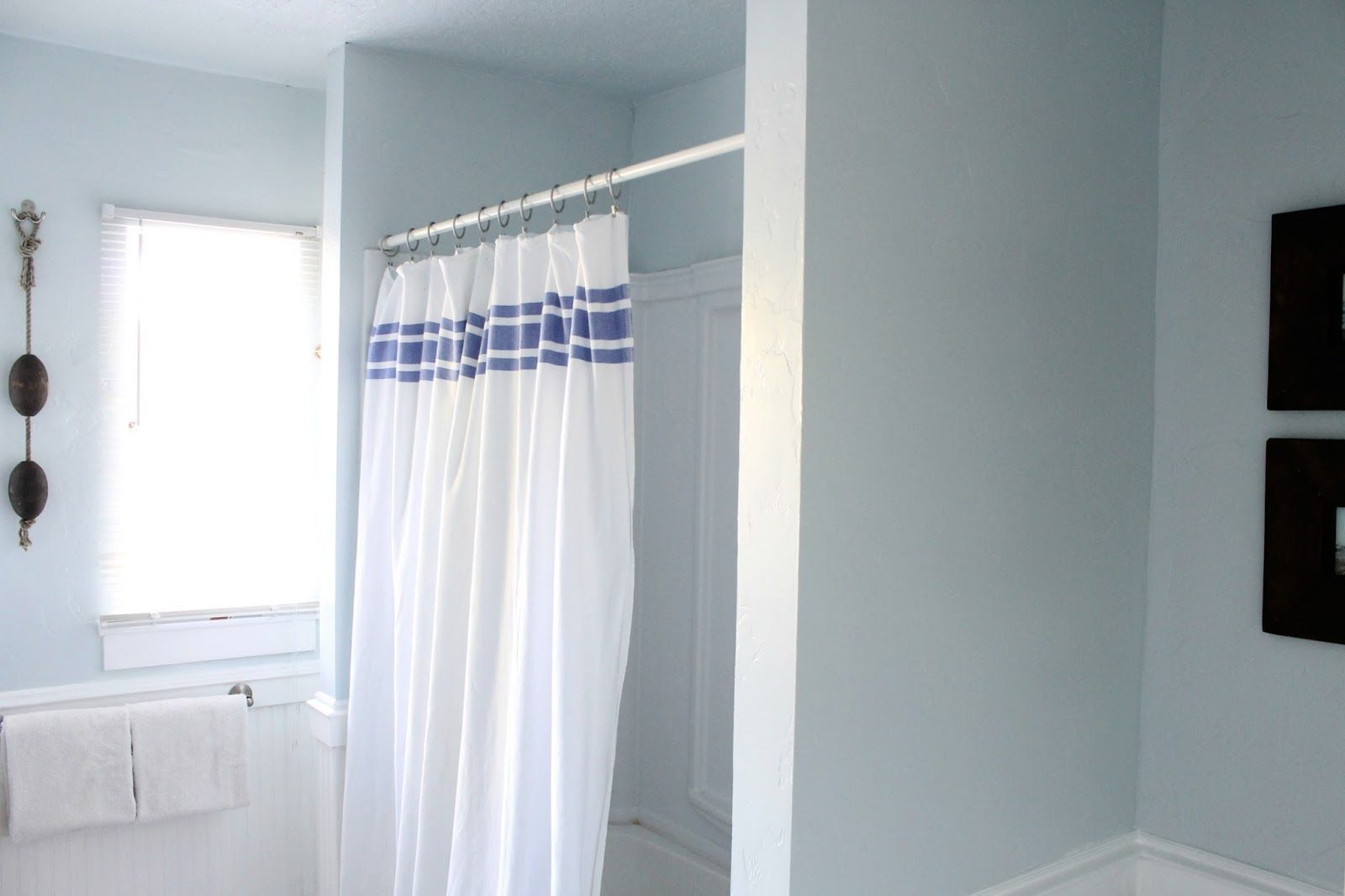 The Wicker House: Main Bath Makeover--Rising Tide Valspar | Paint ...
