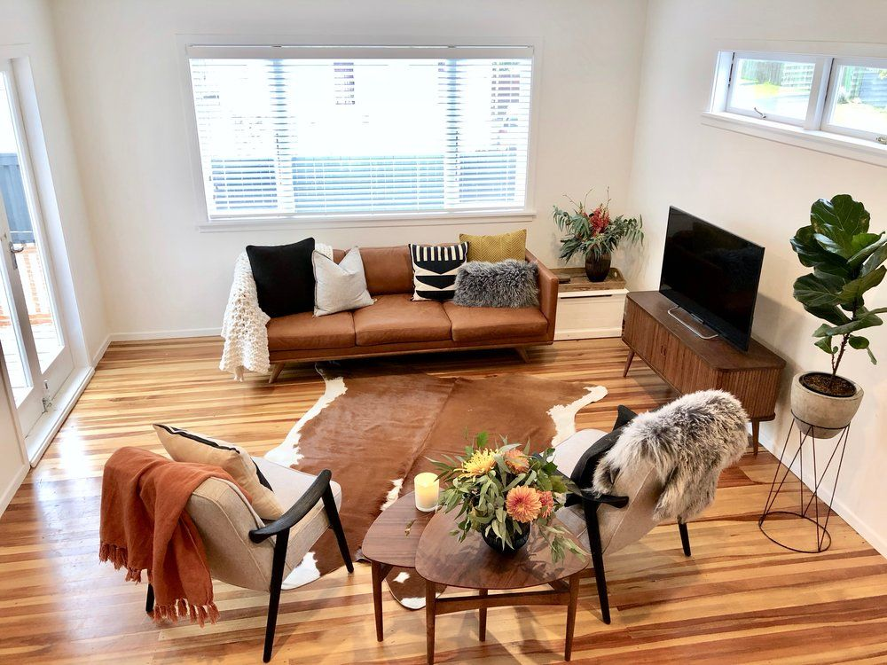 Living Project Reveal Relocatable Reno Pearson Projects In 2020 Hide Rug Living Room Cowhide Rug Living Room Tan Couch Living Room #tan #sofa #living #room #ideas
