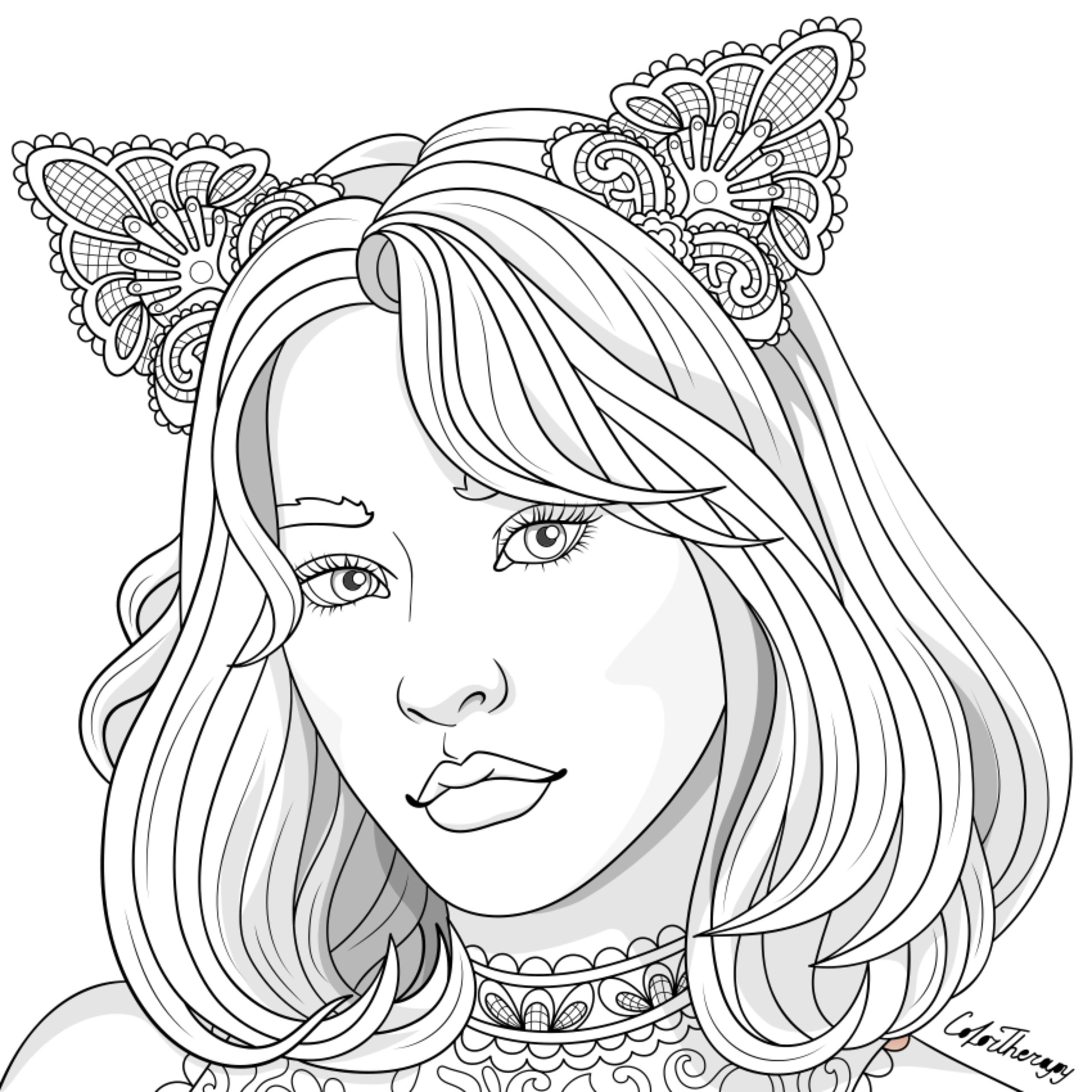 Cute coloring pages image by Nupur Bhatnagar on Devian Art ...