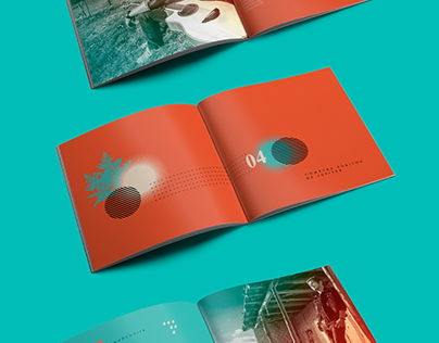 """Check out new work on my @Behance portfolio: """"Los dias del sol (Booklet)""""…"""