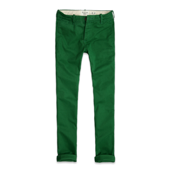 Abercrombie Skinny Chinos Fashion Khaki Pants