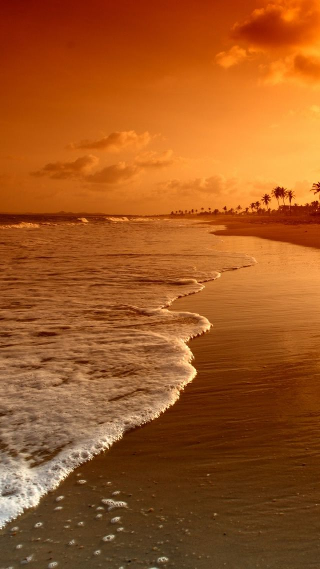 Beach SunriseiPhone 5s Wallpaper http//www