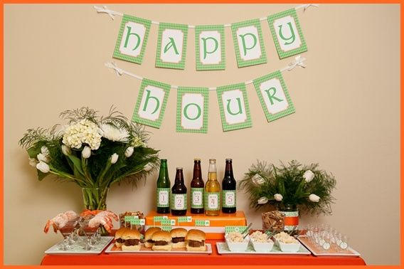 St. Patrick's Day Happy Hour Printables